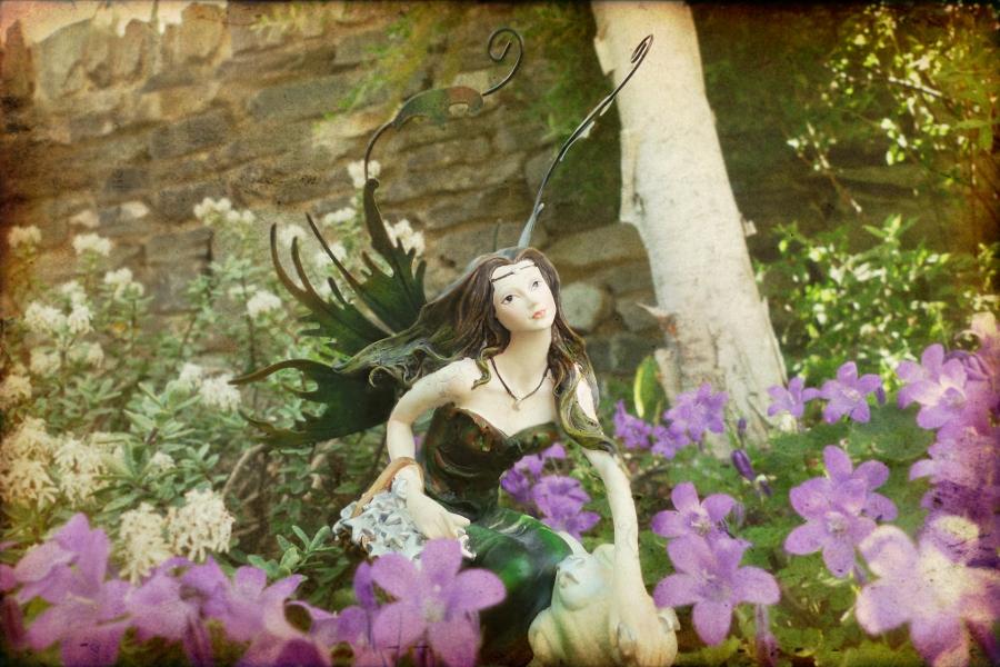 Child Of Dan Garden Fairies