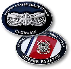 Coast Guard Coxswain's Insignia