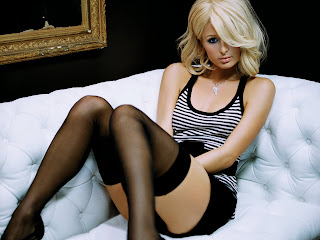 Paris Hilton hot wallpapers 2012