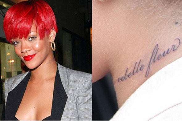 Rihanna Tatto 2026