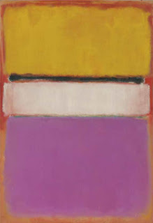 Mark Rothko, White Center (Yellow, Pink and Lavender on Rose)