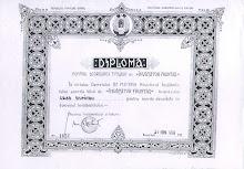 diploma de invatator fruntas