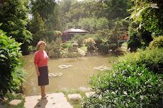 în grădina botanică din Cluj-Napoca