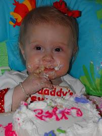 Oakley's 1st Birthday Cake