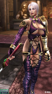 scantily-clad can be an advantage against guys - Ivy; image from SoulCaliburUniverse.com