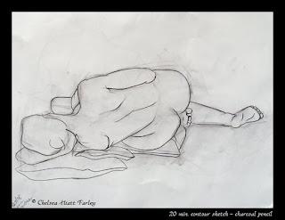 30 min - Christina, contour