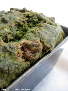 Savory Spinach and Feta Cake from Almost Turkish Recipes