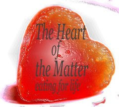 Heart of the Matter, a food blogging event emphasizing heart-healthy ingredients