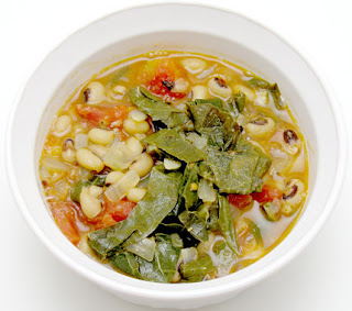 recipe for black-eyed pea and collard green soup