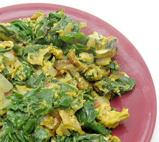 recipe for swiss chard scramble