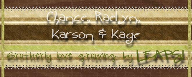Chance, Raelyn, Karson & Kage