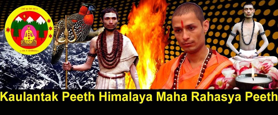Rahasya Peeth-Kaulantak Peeth Himalaya