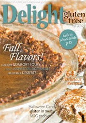 Subscribe to Delight Gluten Free Magazine