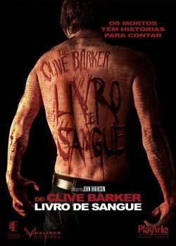 Filme Poster O Livro de Sangue DVDRip H264 Legendado