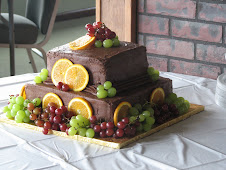 Chocolate on Chocolate Groom's Cake (fruit optional)