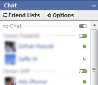 no chat in facebook chat invis