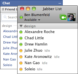 facebook chat xmpp and jabber