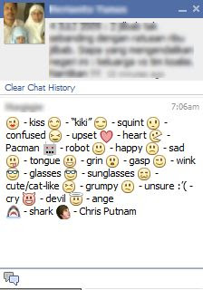 facebook emoticons smileys