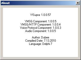 Ysupra version 10057