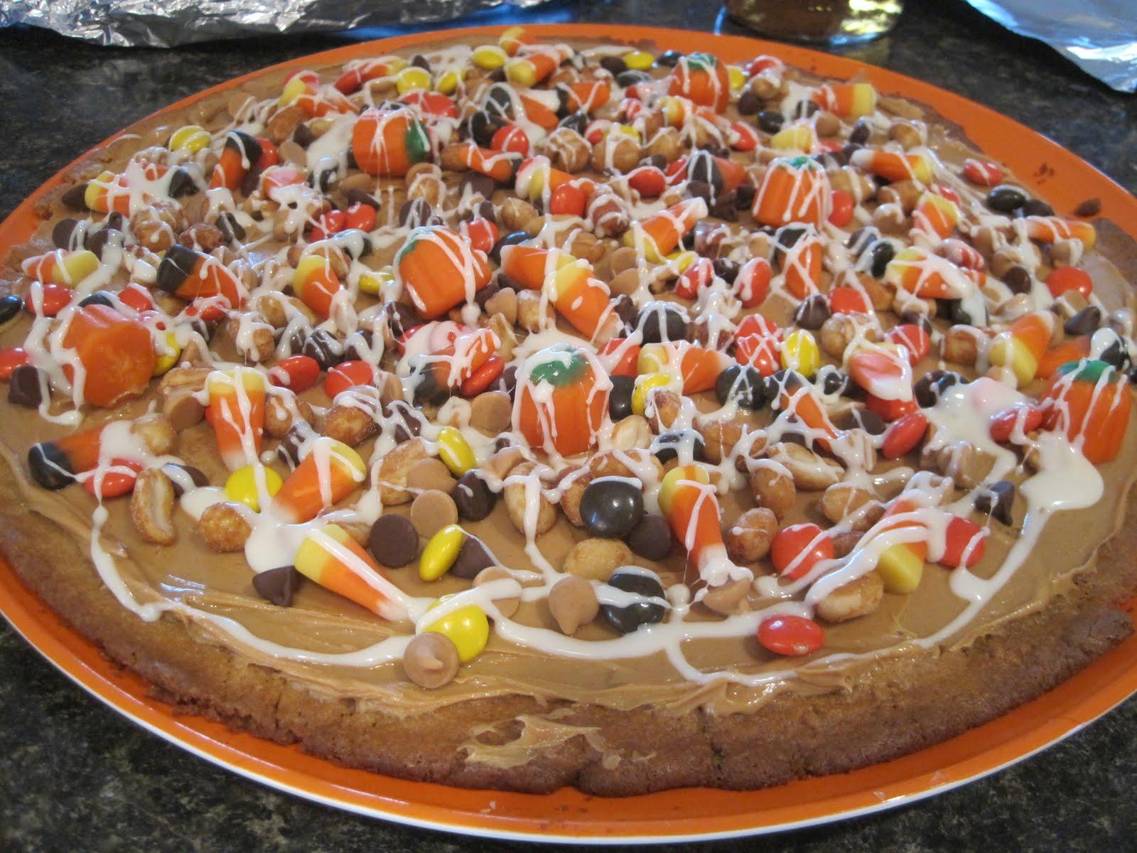 Sweet Escape: Halloween Cookie Pizza