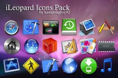 Iconos De Mac Para Windows 7