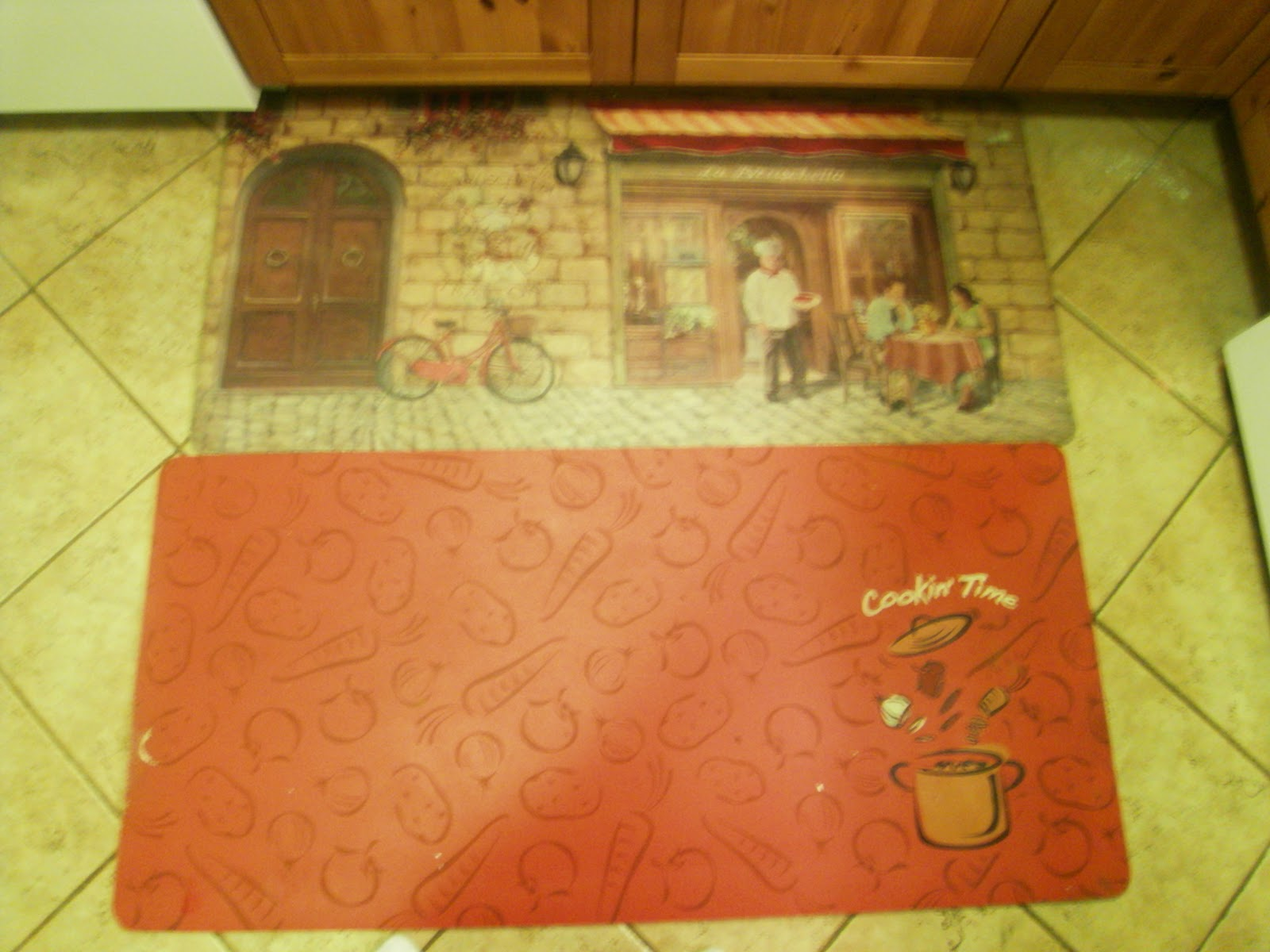 yellowmedaisy: kitchen mat makeover