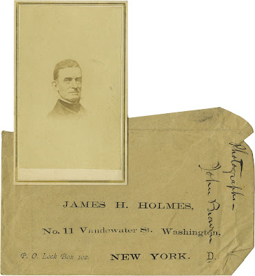 Carte De Visite Of John Brown To Be Auctioned Has Interesting Story Its Own