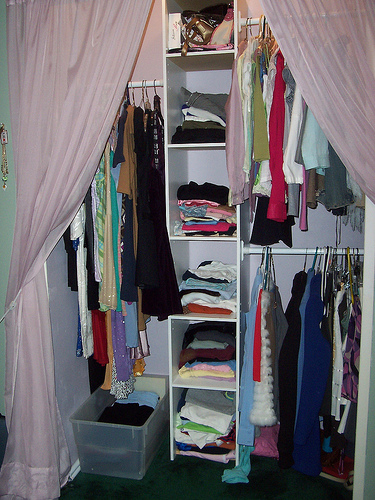 The Craft House Closets Without Doors
