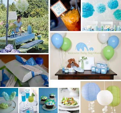 Simple Baby Shower Decoration Ideas