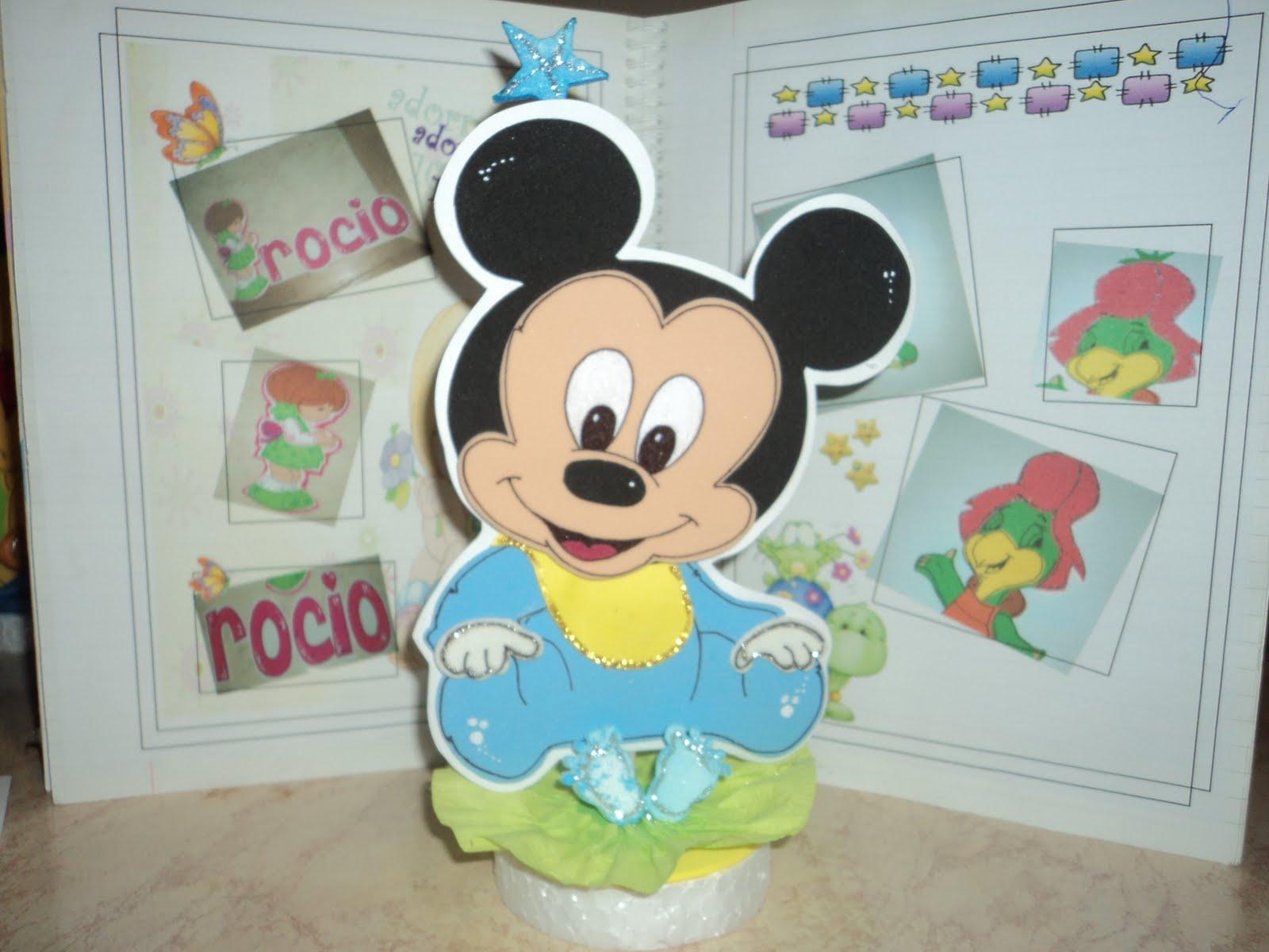Cotillón Fiestas Infantiles: adorno torta mickey bb
