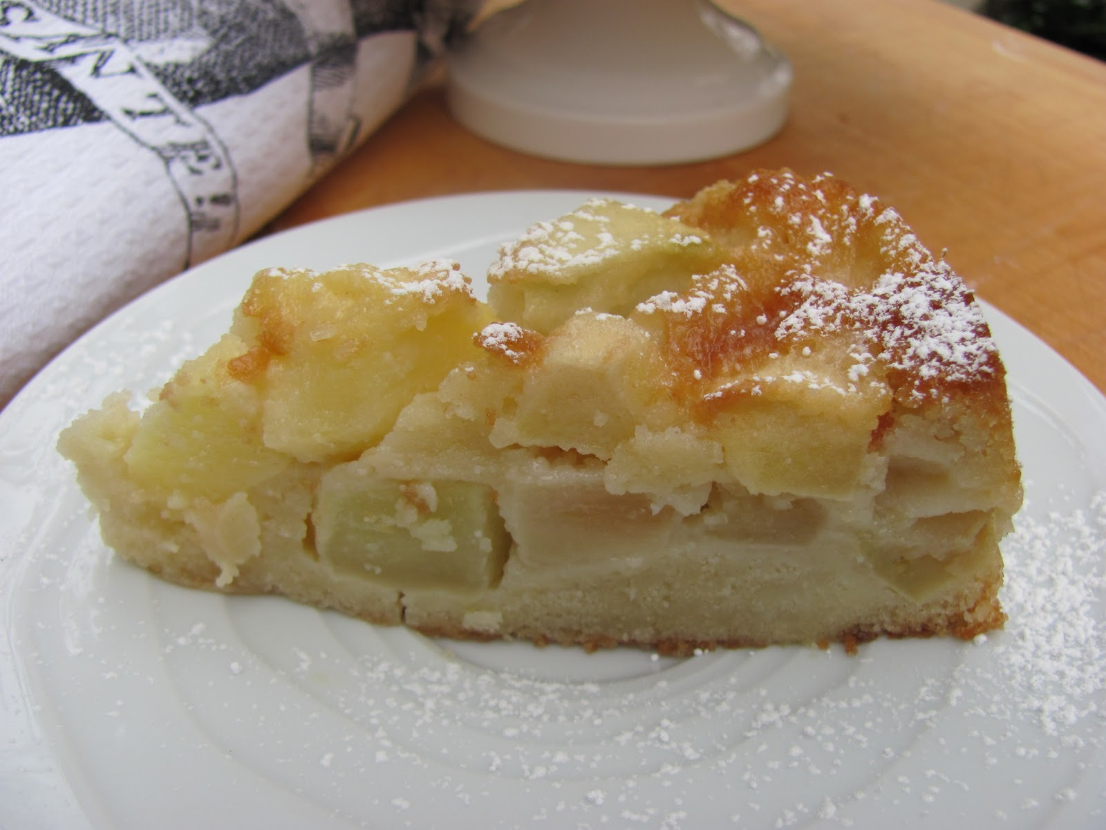 Marie-Hélène's Apple Cake …week 5 of French Fridays with Dorie