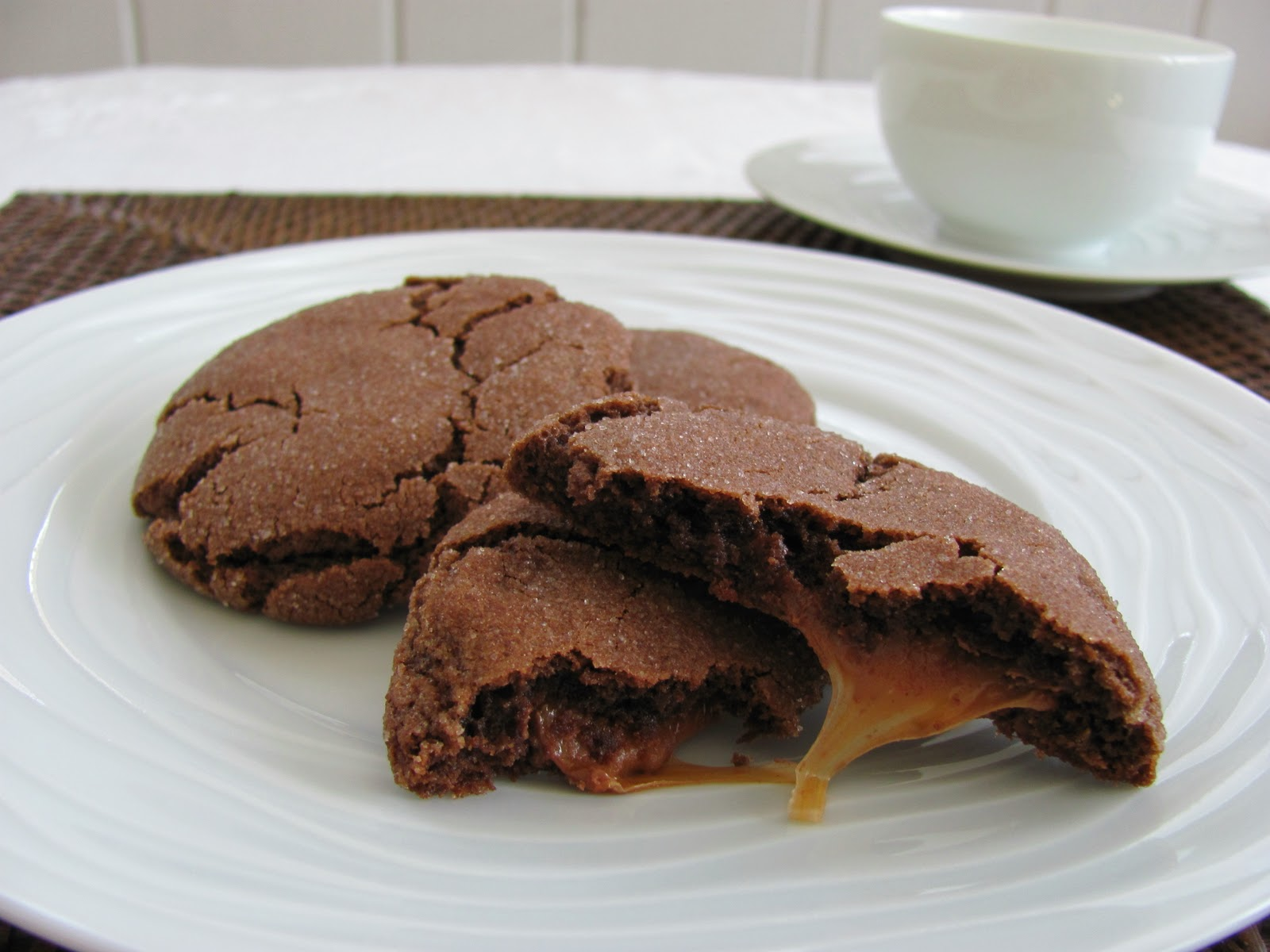 ... sable cookies aka ninjabread cookies rolo cookies two peas their pod