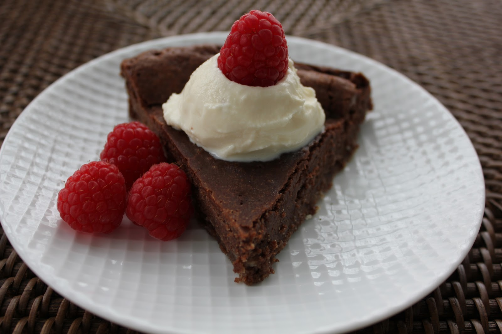 ... Rostang's Double Chocolate Mousse Cake …French Fridays with Dorie