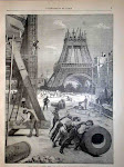 PHOTOGRAPHIE DE L'EXPOSITION UNIVERSELLE DE 1889 À PARIS (FRANCE).