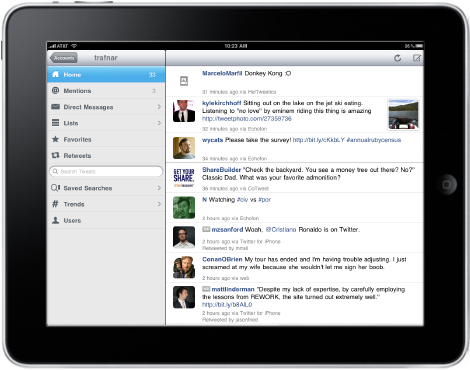 Echofon for iPad