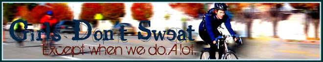 Girls don't sweat