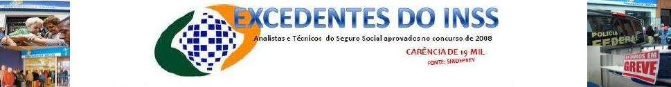 EXCEDENTES DO INSS