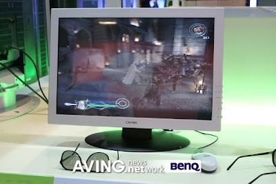 Monitor 3D de 22 polegadas