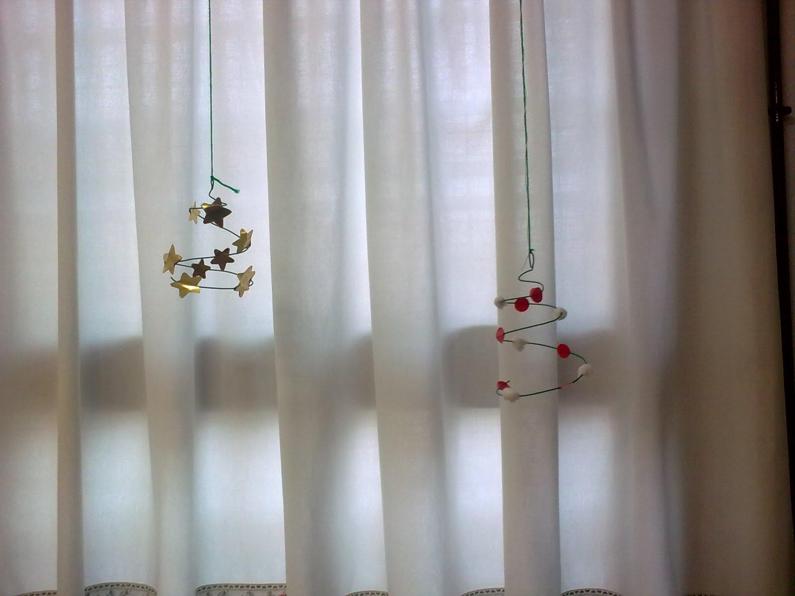 Manualidades escolares decoracion navide a arboles de - Manualidades decoracion navidena ...
