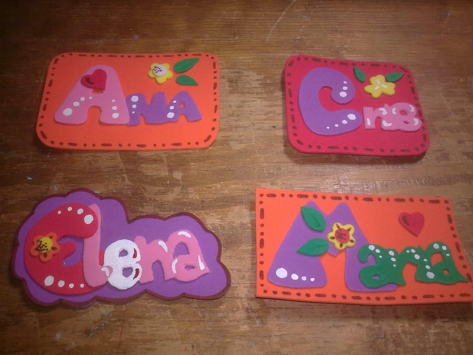 Manualidades escolares regalos de goma eva - Manualidades para un amigo invisible ...