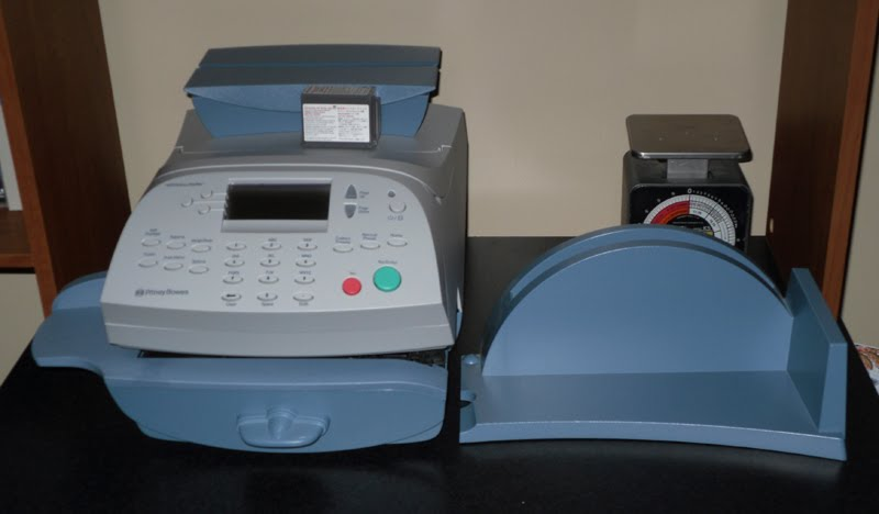 pitney bowes postage machine cost
