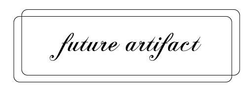 future artifact