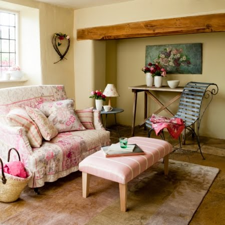 Xing fu english country style decor for Country decorating living room ideas