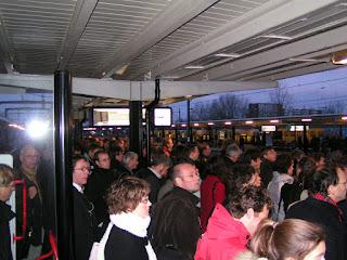 Foto Station Gouda op 10 januari 2007