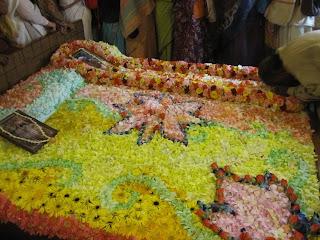 Srila Prabhupada's departure bed