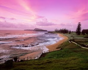 Cemetry Bay Norfolk Island