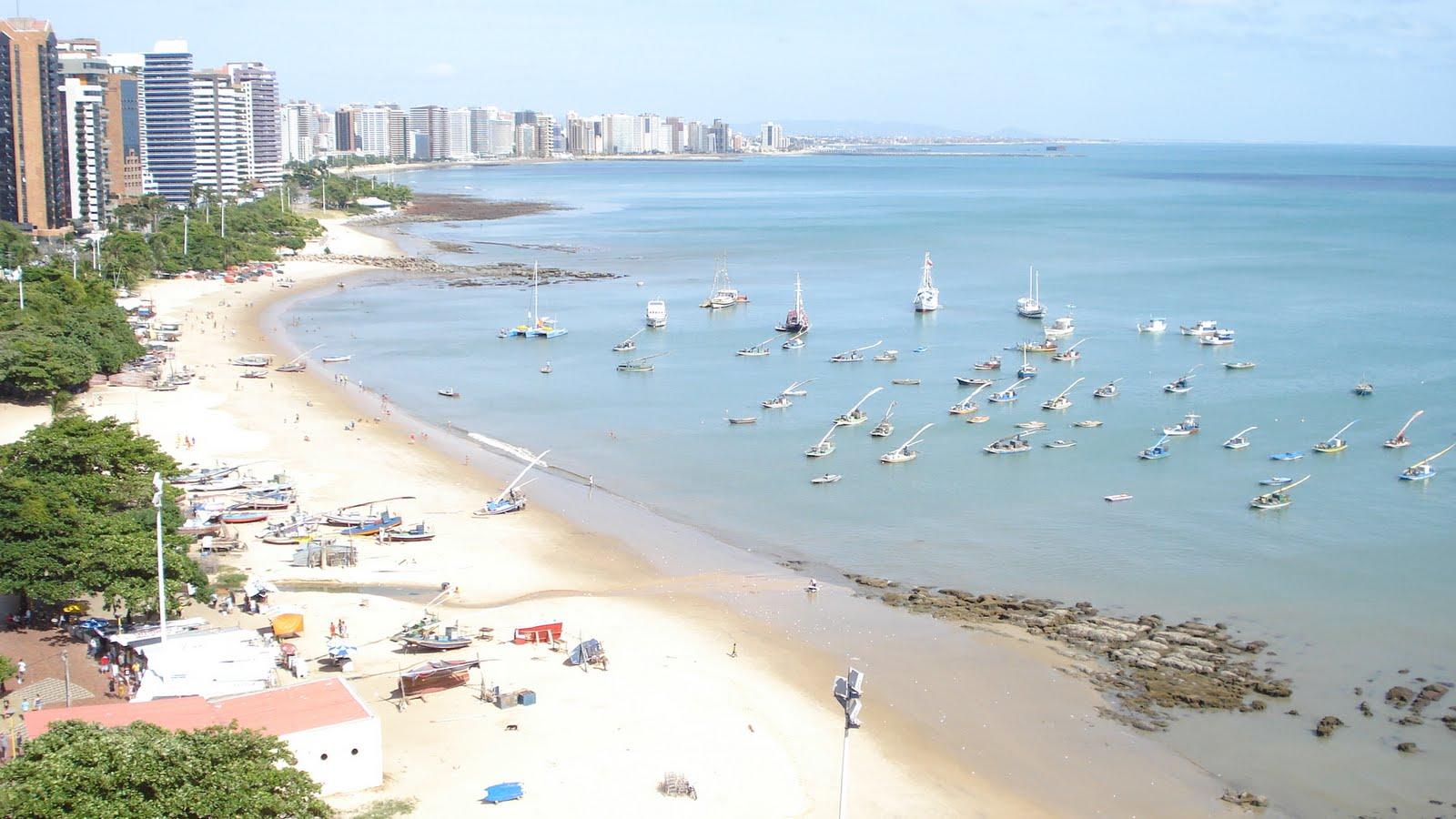 #3E718D praia do Mucuripe em Fortaleza Ceará em foto que bati domingo  92 Janelas De Vidro Em Fortaleza Ce