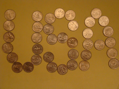 My quarter coin collection