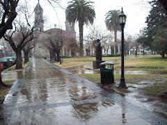 Mañana de lluvia en Bragado
