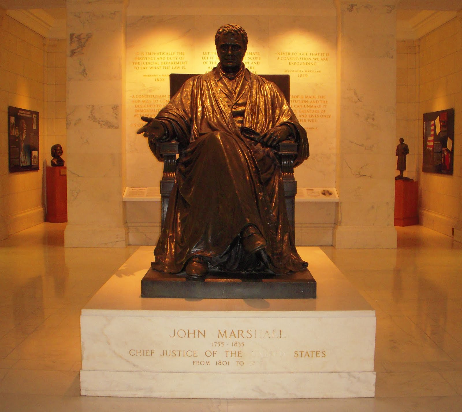 john marshall and the supreme court essay 17311 supreme court justice john marshall this paper provides a profile of the life and career of john marshall, who served for 34 years (1801-1835) as the fourth chief justice of the us supreme court.